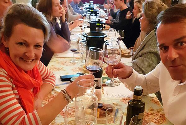 Wijnproeverij met Italiaans buffet